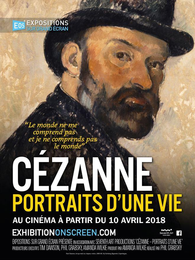 Expositions sur grand écran : Cézanne, portraits d'une vie