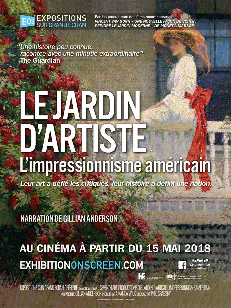 Exposition sur grand écran : Le Jardin d'artiste