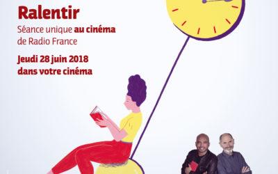 Conférence France Inter : Ralentir