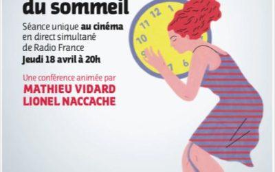 Conférence France Inter : Les mystères du sommeil