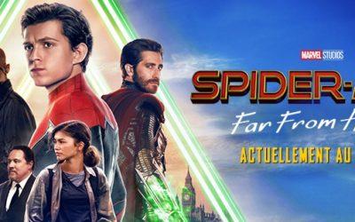 SPIDER-MAN FAR FROM HOME – CINÉMA EN PLEIN AIR À BEAULIEU