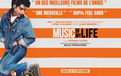 MUSIC OF MY LIFE VOstf – EN AVANT-PREMIÈRE ET EN PLEIN AIR À BEAULIEU