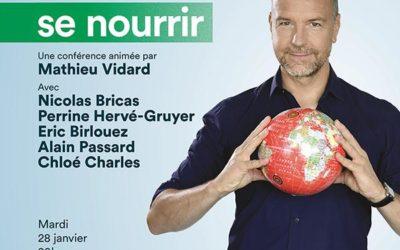 CONFÉRENCE FRANCE-INTER – DEMAIN, NOTRE PLANÈTE #2 SE NOURRIR !!!!!!!!! ANNULÉE !!!!!!!!!!!