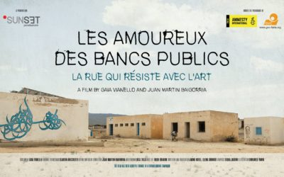 Festival Amnesty International au cinéma pour les droits humains LES AMOUREUX DES BANCS PUBLICS , en présence de la réalisatrice GAIA VIANELLO